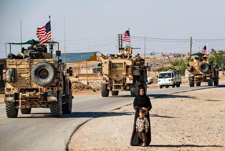 صورة أرشيفية للقوات الأميركية في سوريا