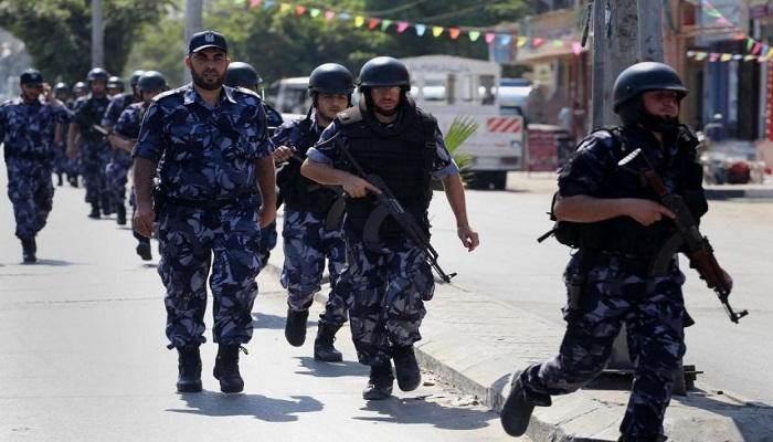 الأجهزة الأمنية في غزة ضبطت الخلية إثر تحركات مشبوهة وخلال قيامها بعمل تخريبي ضد عناصر المقاومة