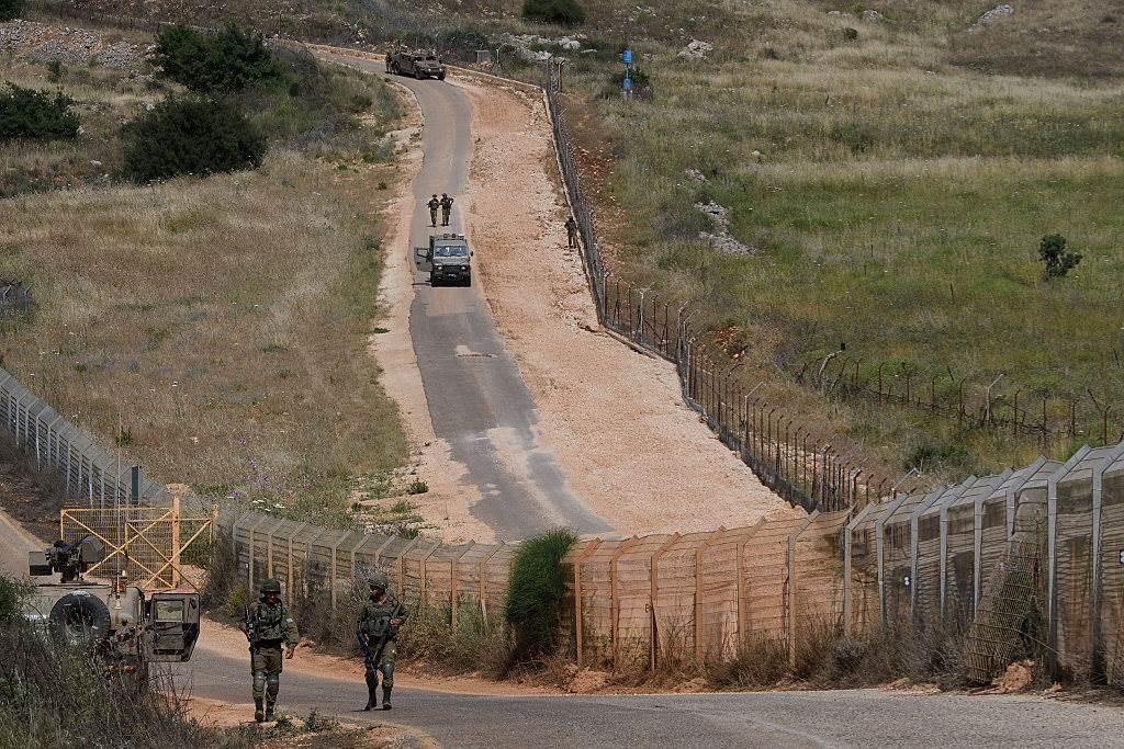 الحدود اللبنانية الفلسطينية (صورة ارشيفية).