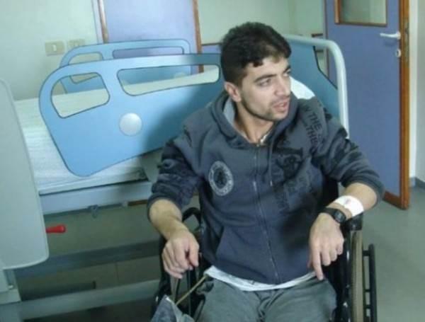 الأسير خالد الشاويش المحكوم بالسجن المؤبد المكرر 11 مرة يعاني من شلل دائم