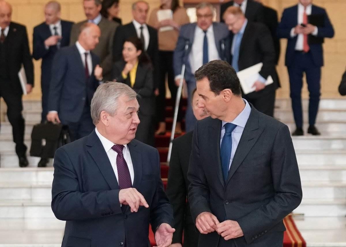 تفاصيل الكرملين بعد زيارة الأسد