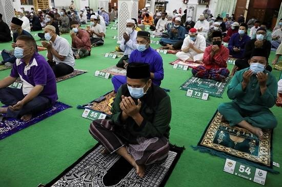 صلاة العيد في ماليزيا