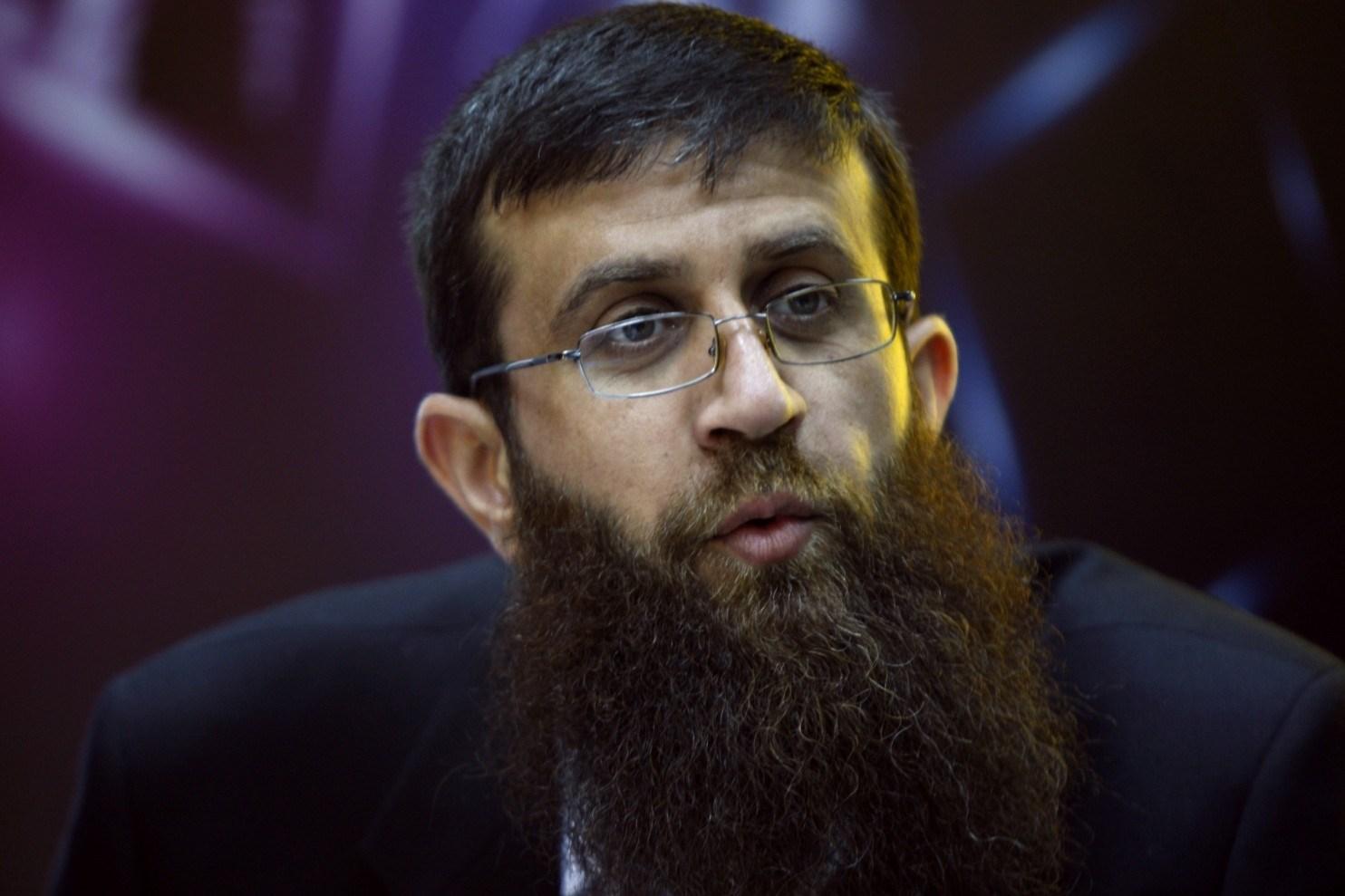 القيادي في حركة الجهاد الإسلامي في فلسطين الشيخ خضر عدنان