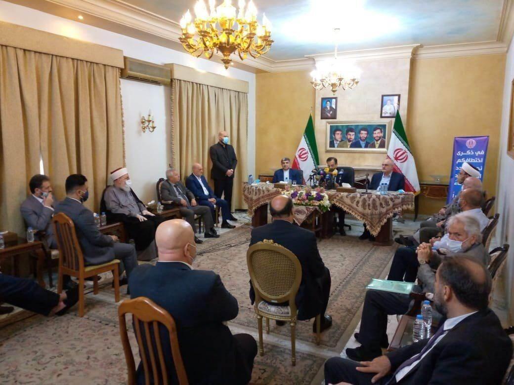السفير الإيراني في لبنان: نؤكد عمق العلاقات الراسخة بين إيران ولبنان