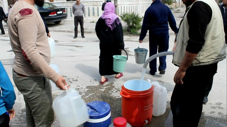 مجدداً الجيش التركي يقطع المياه عن مليون مدني في الحسكة وأريافها