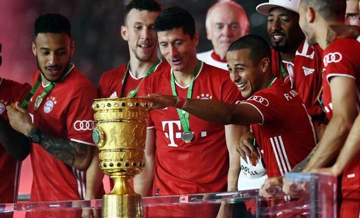 اللقب العشرين القياسي للبافاري في كأس ألمانيا