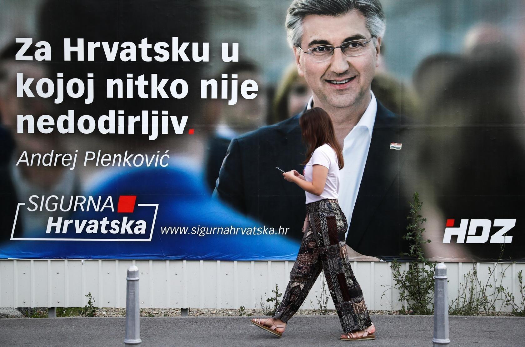 انتخابات في كرواتيا لاختيار حكومة تواجه تحديات كورونا والانكماش