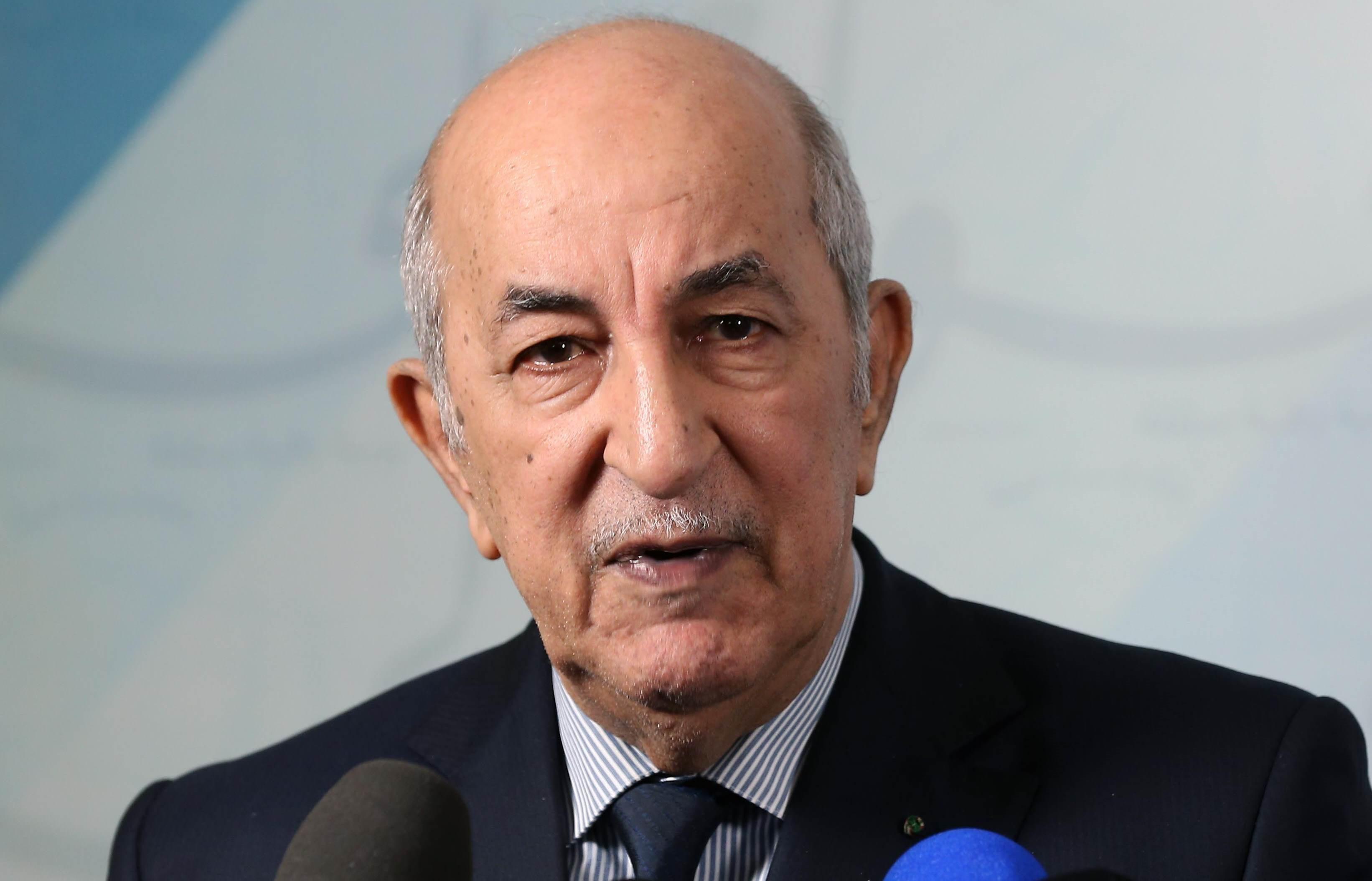 تبون: مستعدون لإجراء حوار بين الفرقاء الليبي.. ولطي الإشكال مع المغرب
