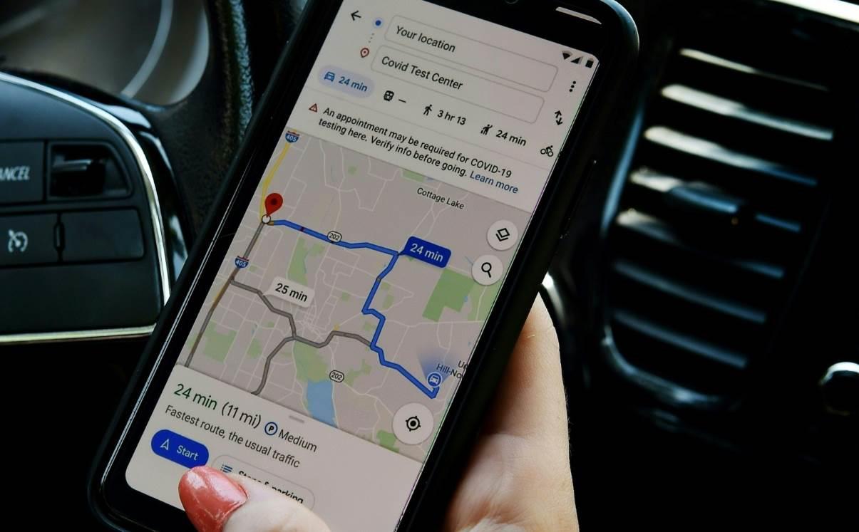 خرائط غوغل تعلن عن تدابير جديدة لتسهيل الانتقال في ظل كورونا