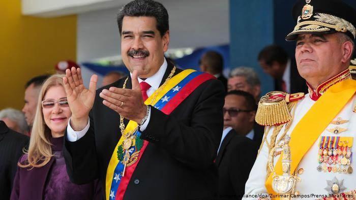 مادورو في احتفال بيوم استقلال فنزويلا العام الماضي