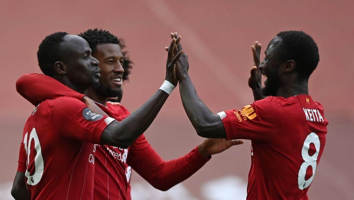 بقي ليفربول من دون خسارة على ملعبه