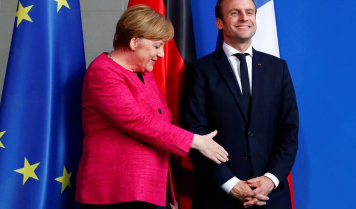 الاستراتيجيَّة الأوروبيّة.. بين ماكرون الهجوميّ وميركل المتردّدة