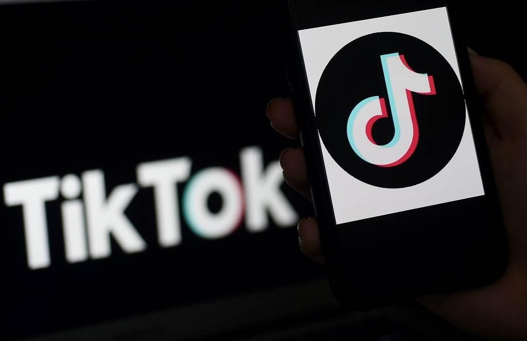 تطبيق تيك توك يعلن أنه سيوقف تطبيقه من العمل في هونغ كونغ (أ ف ب).