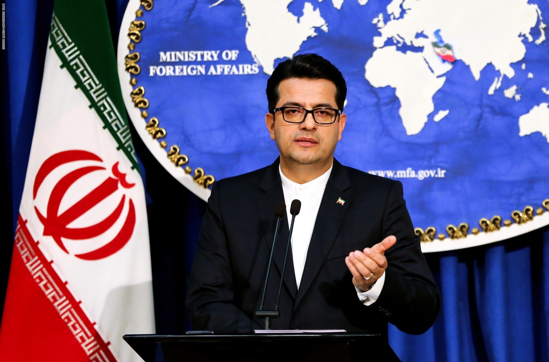 قال المتحدث باسم وزارة الخارجية الإيرانية عباس موسوي