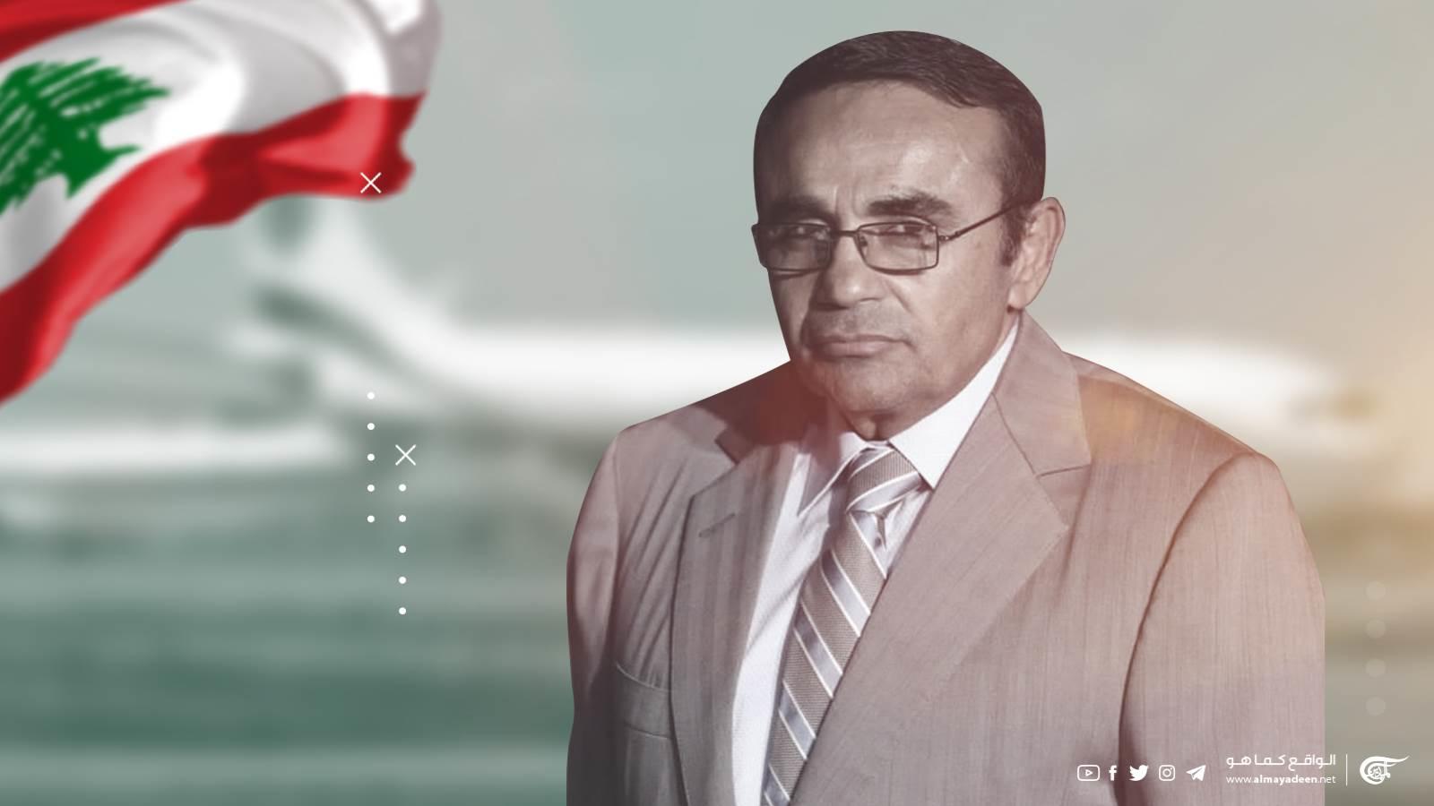 رجل الأعمال اللبناني قاسم تاج الدين وصل إلى مطار بيروت.