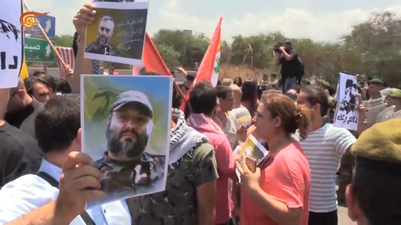 وقفة احتجاجية في لبنان رفضاً للتدخلات الأميركية