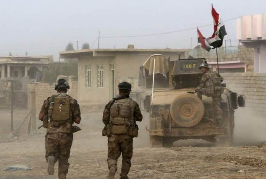 قوات قيادة عمليات صلاح الدين تنفذ عملية تفتيش واسعة غرب وادي الثرثار