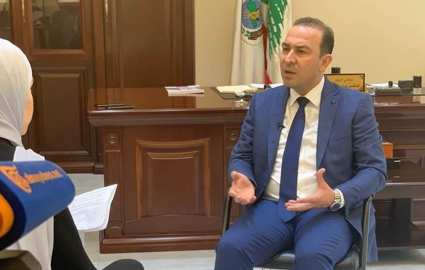 وزير الزراعة اللبناني: الامكانيات المتوفرة لدى وزارة الزراعة لا تكفي وهي ضئيلة جداً