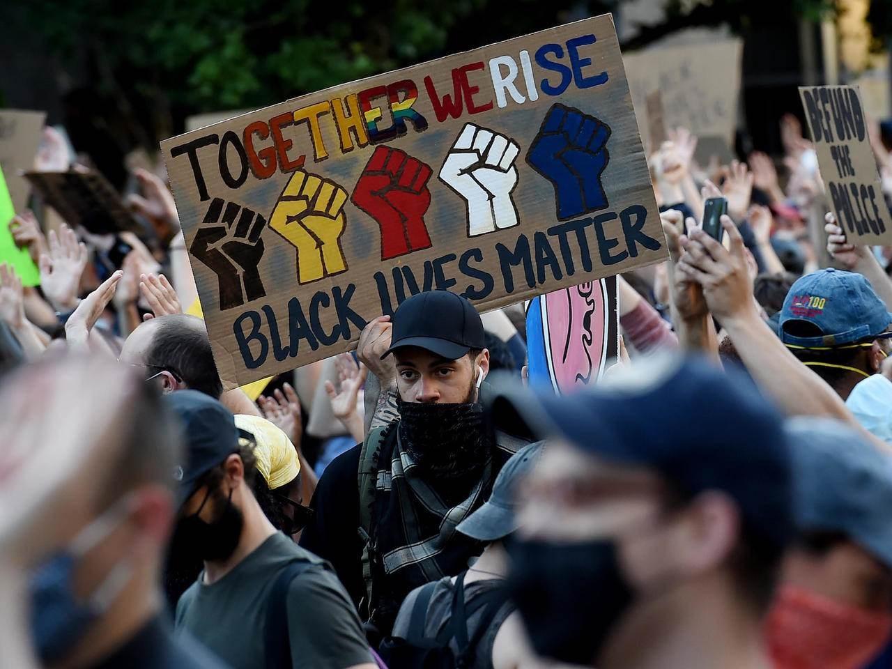 الاحتجاجات الأميركية  ضد العنصرية مستمرة