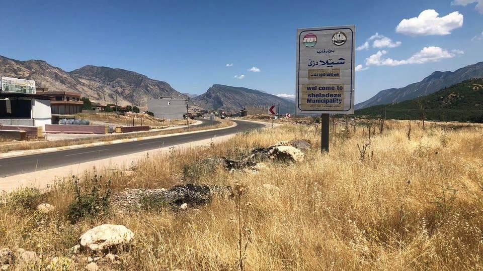 من محافظة دهوك التي يستهدفها القصف التركي.