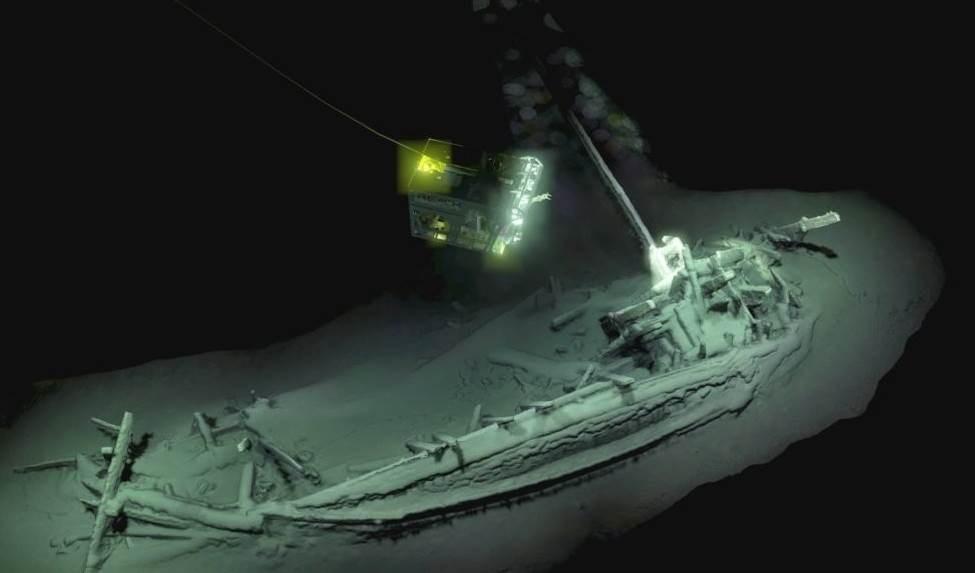 اكتشاف كنز أثري مكوّن من حطام سفينة غرقت في القرن الخامس قبل الميلاد