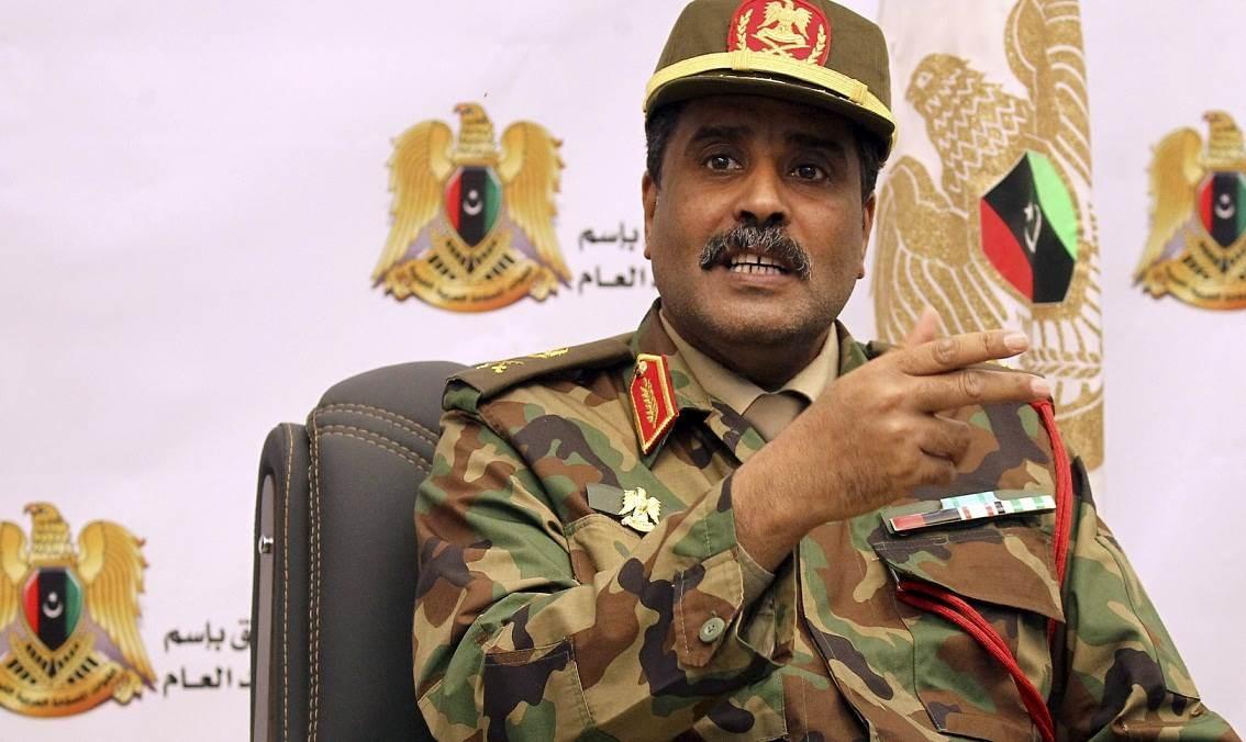 المسماري يطالب التنسيق مع ليبيا مسبقاً للحيلولة دون وقوع تصادم معها