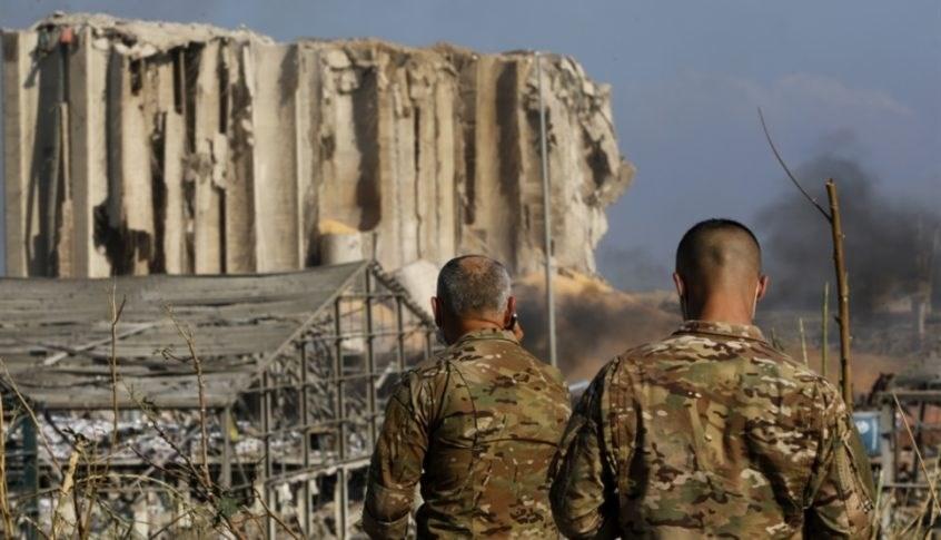 الجيش اللبناني ينفي الشائعات بوجود أنفاق في فرفأ بيروت