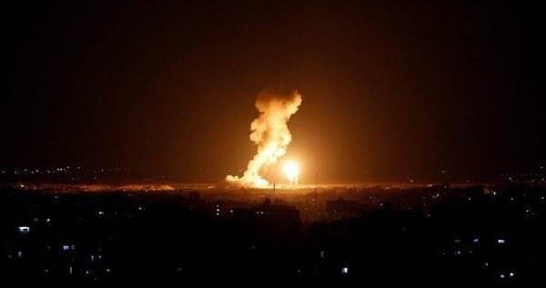 الغارة استهدفت نقطة للضبط الميداني شرق بلدة بيت حانون شمال قطاع غزة