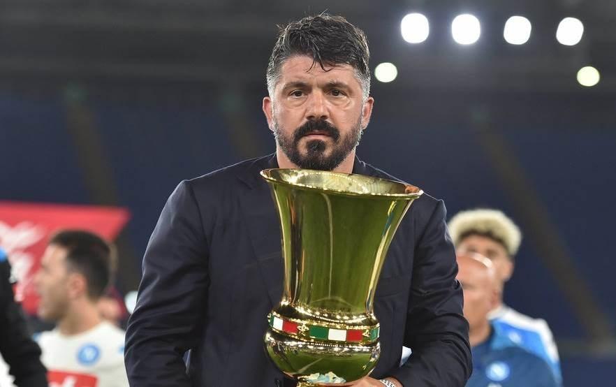قاد غاتوزو نابولي للتتويج بلقب كأس إيطاليا