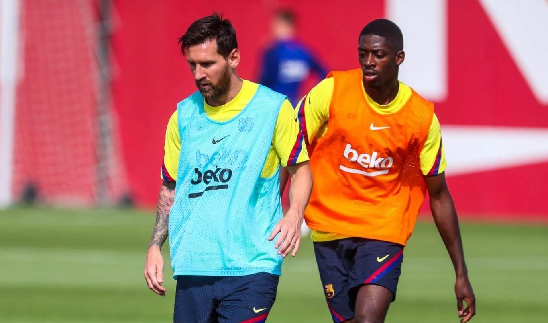 ميسي يعود لتدريبات برشلونة