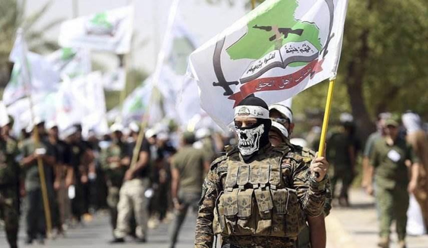 حركة عصائب أهل الحقّ القصف التركي تطالب برد قويّ وحاسم في حال فشلت الطرق السلمية.