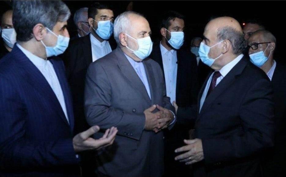 وزير الخارحية الإيراني محمد جواد ظريف يصل إلى العاصمة اللبنانية بيروت