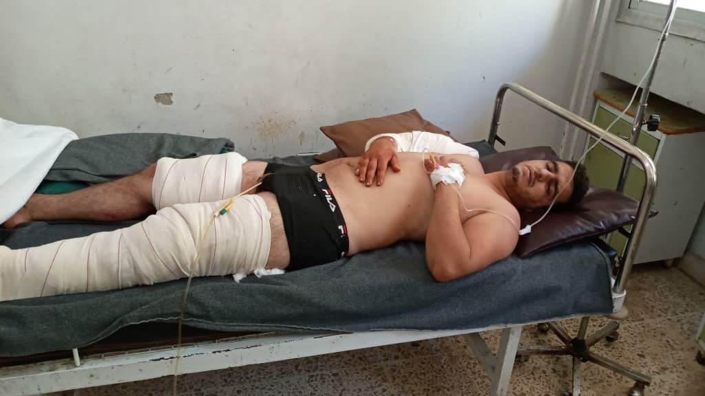 جرحى الجيش السوري بالاستهداف الأميركي لحاجز في تل الذهب