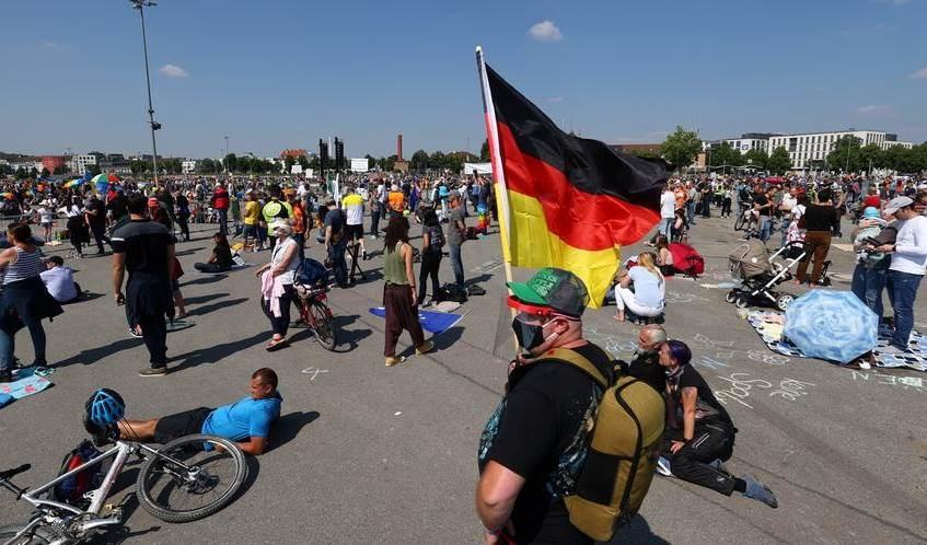 20 ألف شخص شاركوا في التظاهرة الألمانية
