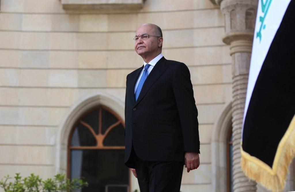 الرئيس العراقي برهم صالح: من المعيب فعلاً القصور والتقاعس الخطير في تلبية متطلبات أهلنا في سنجار (أ.ف.ب)