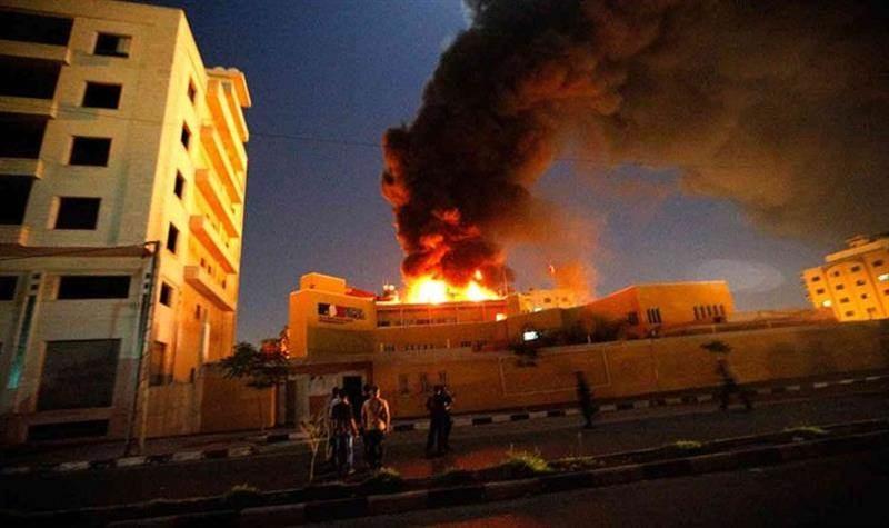 مراسل الميادين في غزة: سماع دوي انفجار في المناطق الشمالية للقطاع