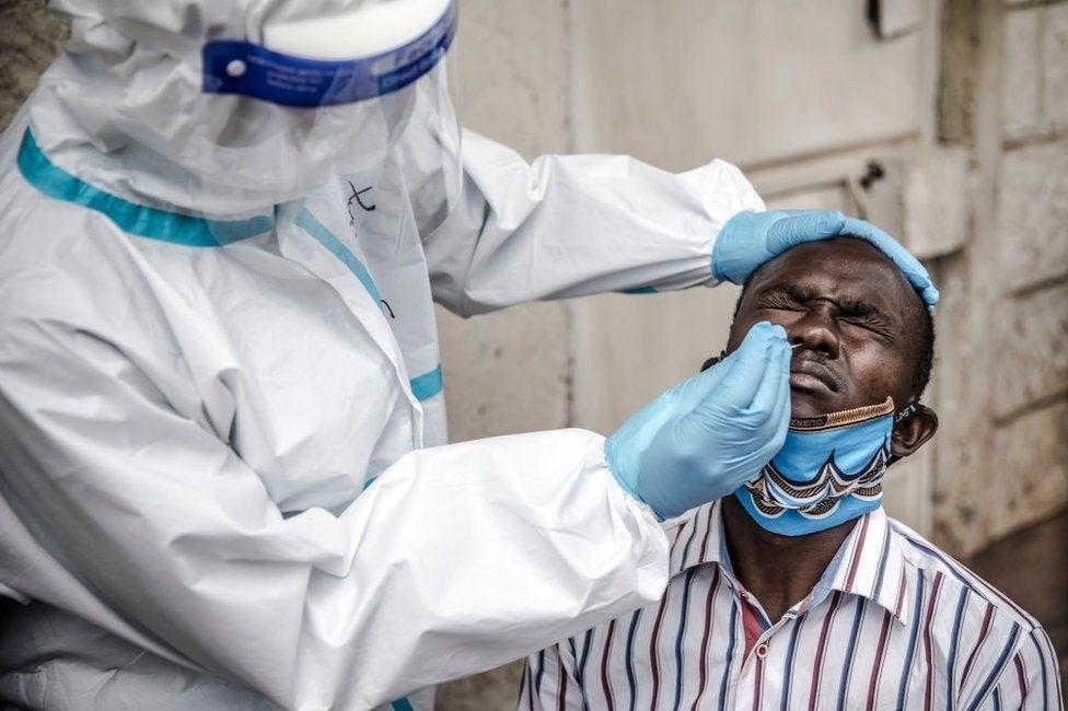 سُجل أكثر من ثلث الإصابات في مقاطعة غاوتينغ المركز المالي لجنوب أفريقيا