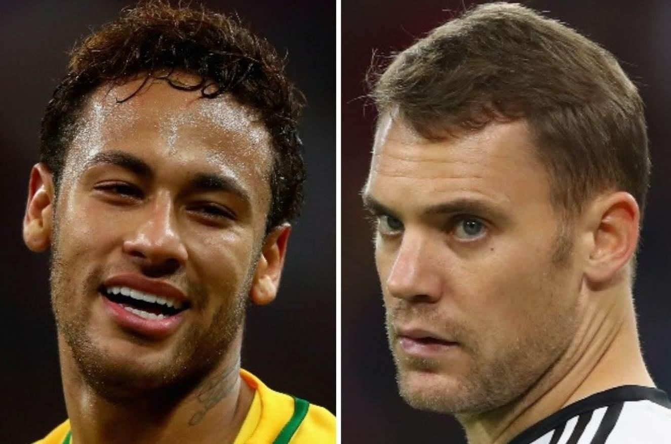 كل البرازيليين سيؤازرون نيمار في مواجهة بايرن