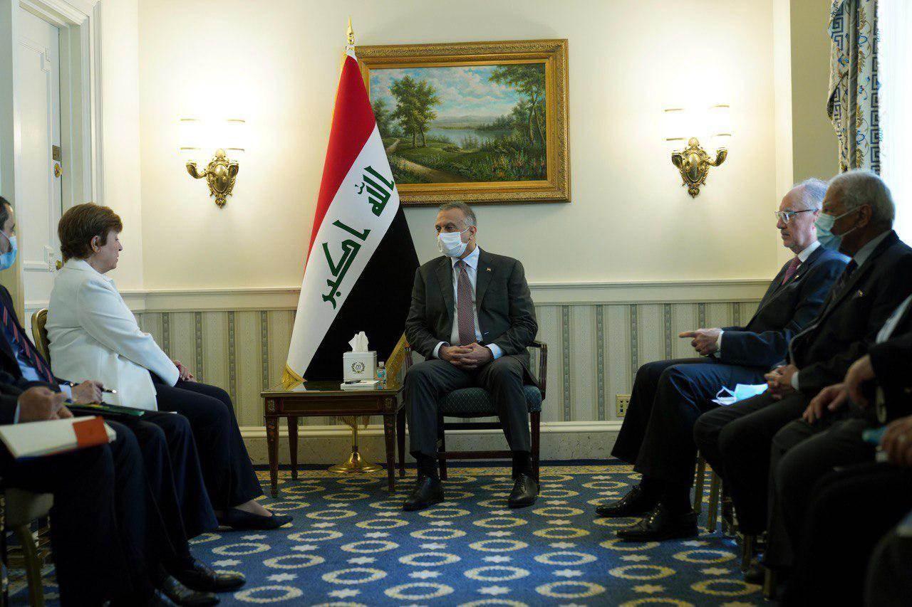 كوجر يصف لقاء الكاظمي مع مدير عام صندوق النقد الدولي بالـ