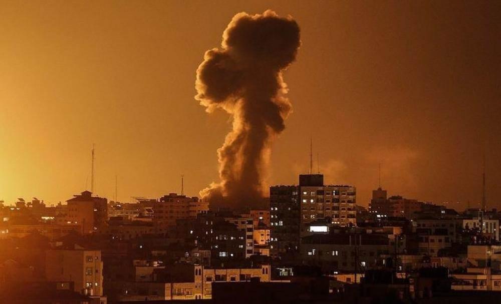 طائرات ومدفعية الاحتلال تقصف عدة مناطق جنوبي قطاع غزة
