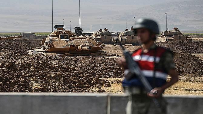 جندي من القوات المسلحة التركية (أ ف ب)