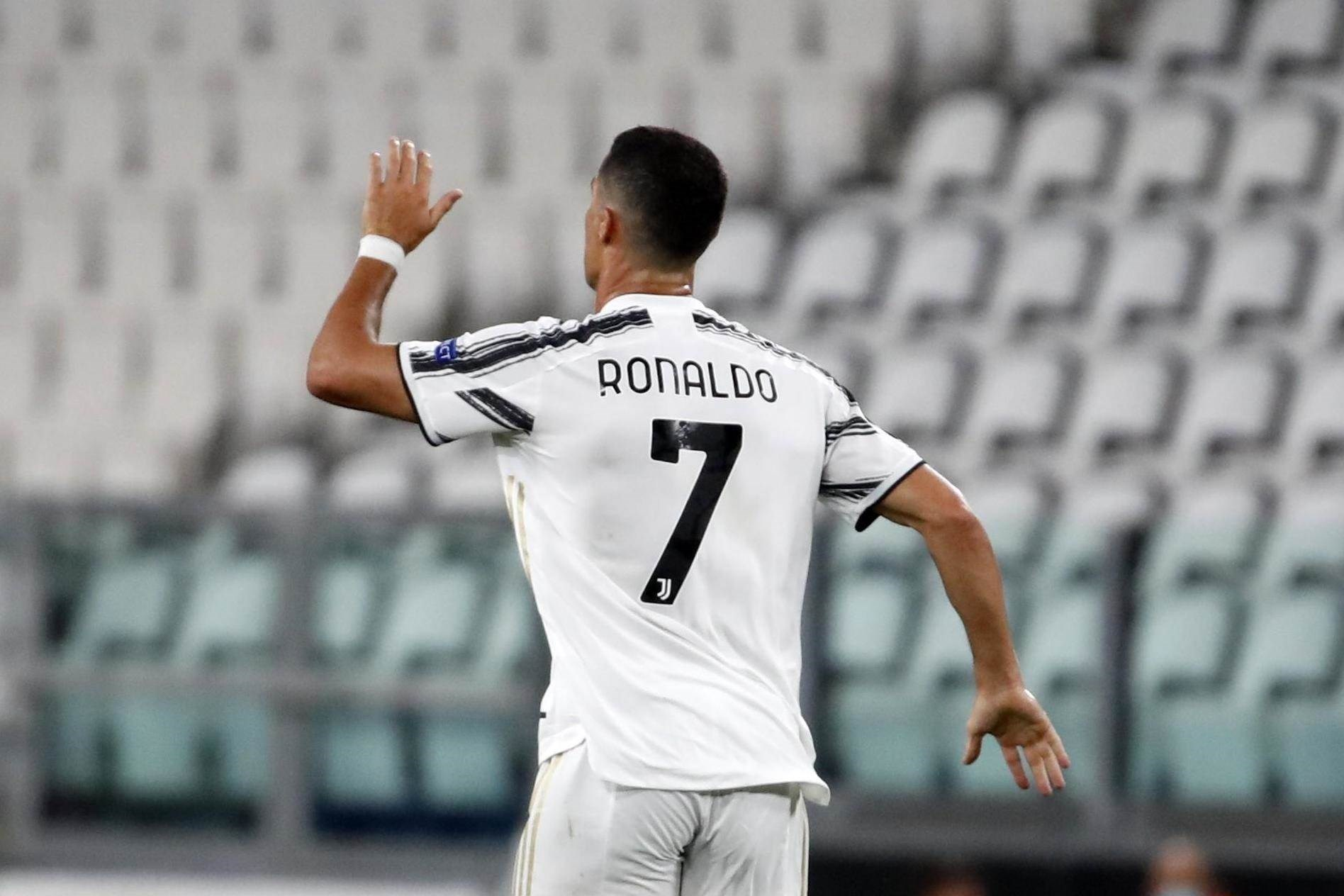 سجل رونالدو الهدف أمام ليون (أرشيف)