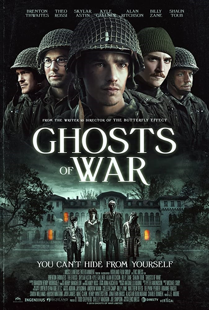 الجنود الأميركيون الخمسة على ملصق الفيلم