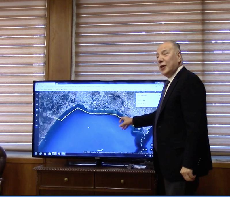 توفيق دبوسي يشرح المشروع الاستثماري