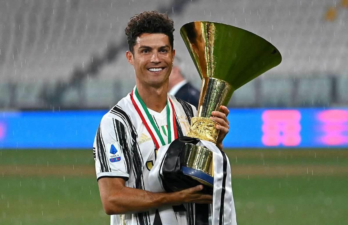 توِّج رونالدو بلقب الدوري الإيطالي للمرة الثانية
