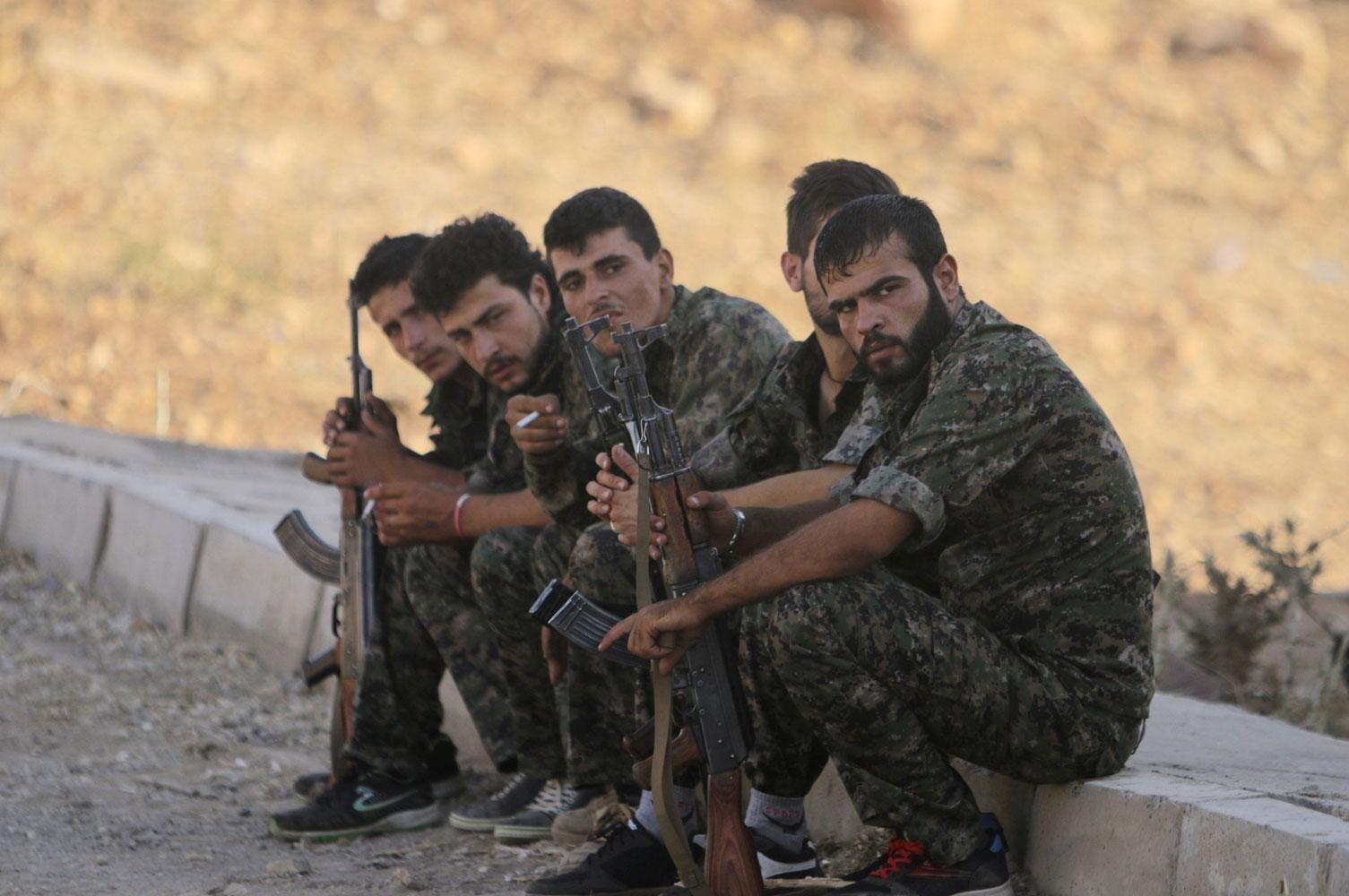 مسلحون كرد من حزب العمال الكردستاني في إقليم كردستان العراق