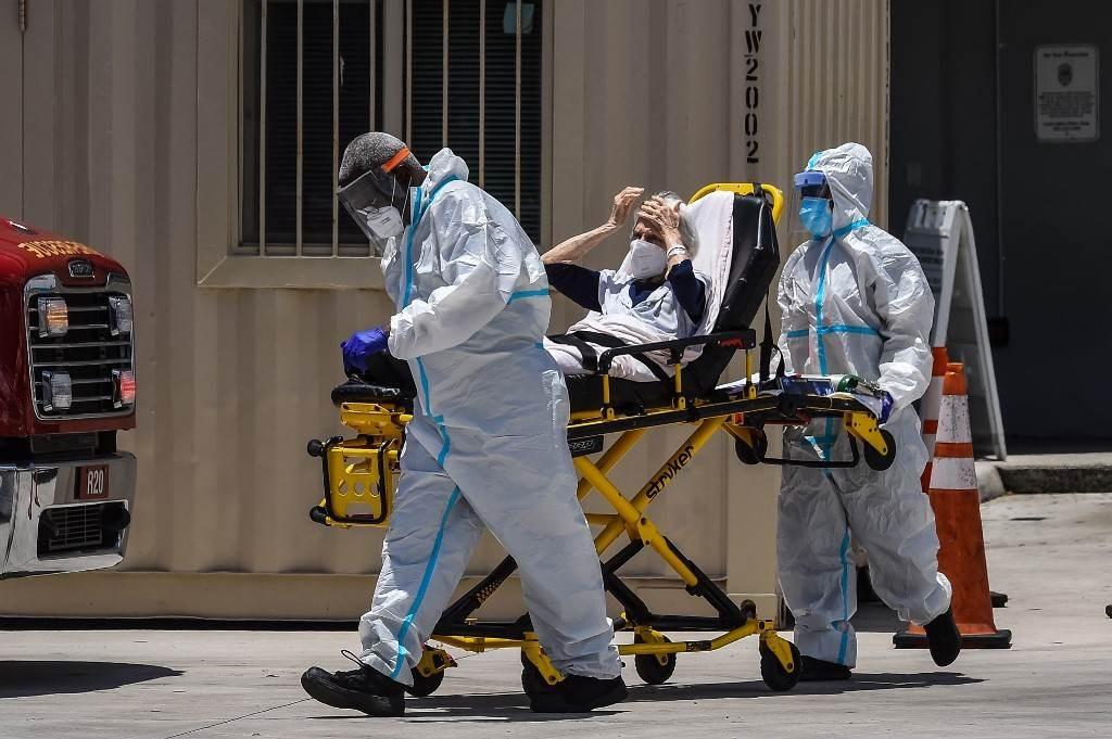 سجلت الولايات المتحدة حوالى 47.508 إصابة جديدة في الـ24 ساعة الماضية (أ ف ب)