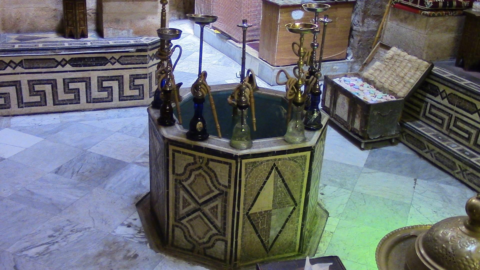 بركة الصالة في حمام العبد