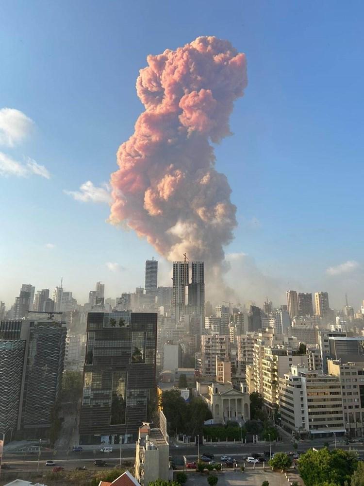 مراسل المیادین: سماع دوی انفجار وسط بیروت