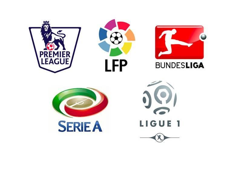 ترتيب البطولات الأوروبية الخمس الكبرى لناحية معدّل الأهداف